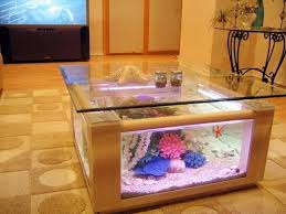 Fish Tank Living Room Table - coffee table design aquarium fish tank decorating ideas 2017
