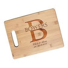 newlywed gift custom newlywed gift cutting board engraved wedding