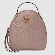 gg marmont quilted leather backpack women u0027s backpacks