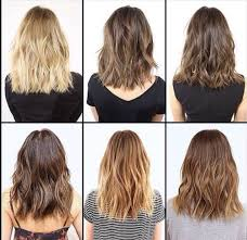 cute shoulder length haircuts longer in front and shorter in back best 25 blunt haircut with layers ideas on pinterest blunt cut