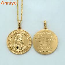 religious jewelry stores aliexpress buy anniyo st christopher protect me necklaces