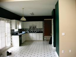 kitchen ceramic tile black and white patterned irregular matte