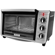 Toaster Oven And Microwave Black U0026 Decker 6 Slice Toaster Oven Walmart Com