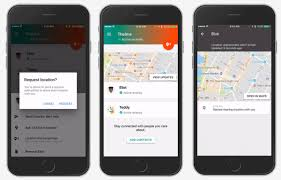contacts android app launches trusted contacts location app on ios