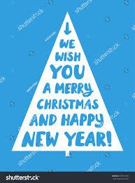 we wish you merry happy stock vector 535914991