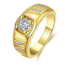 aliexpress buy gents rings new design yellow gold new yellow gold gold white gold color men ring geometric