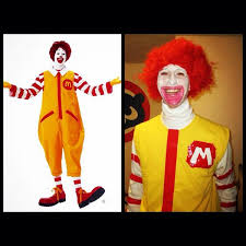 Ronald Mcdonald Halloween Costume Econostumes Econostumes Twitter