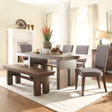 Informal Dining Room Terra Vista Wood Dining Table Only In Casual Walnut Humble Abode