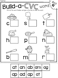 164 best cvc words images on pinterest cvc worksheets literacy