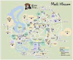 magic kingdom disney map kennythepirate s magic kingdom map including fastpass plus
