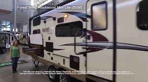 Rockwood Trailers Floor Plans Forest River Rockwood Mini Lite 2509s Youtube
