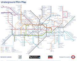 map of the underground in the underground map is a unique reinterpretation of the