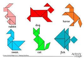 tangram puzzle tangrams