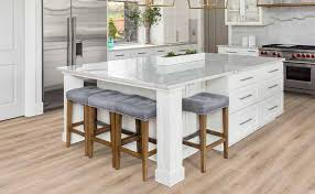 white kitchen cabinets with vinyl plank flooring luxury vinyl plank flooring
