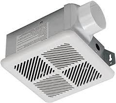 bathroom exhaust fan 50 cfm hoover 7121 01 4 sones 50 cfm bath exhaust fan white finish