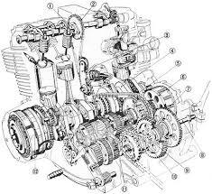cb750 sohc engine diagram