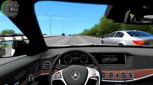 mercedes city car city car driving 1 4 1 mercedes s63 amg w222