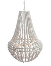 Wohnzimmerlampe Design Holz Lifestyle Bella Perlen Lampe Weiß L Hängen Lampen Pinterest