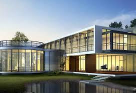 luxury futuristic home architecture design ideas featuring large