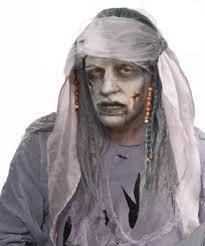 Dead Pirate Costume Halloween Zombie Pirate Wig Accessories U0026 Makeup