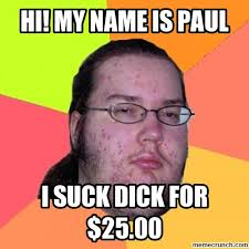 Paul Meme - my name is paul