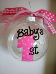 babys ornament birth announcement would be