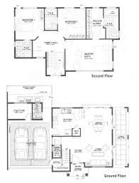 Split Master Bedroom Flooring Ground Floor Plan House Hidalgo Mexico Bitar