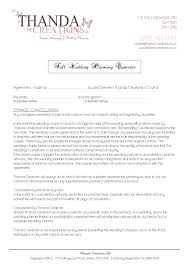 wedding planner contracts wedding planner cover letter images cover letter sle