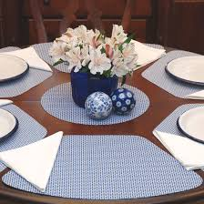 image for best placemats for round table dishes pinterest