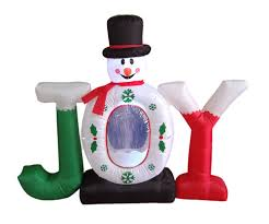 21 funny inflatable christmas decorations