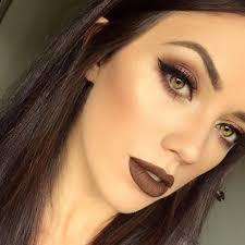 true brown k dramatic eye makeup tutorial youtube
