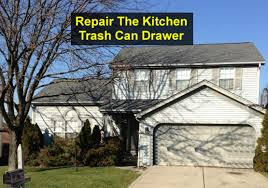 Kitchen Cabinet Garbage Drawer How To Repair Or Replace Your Kitchen Trash Can Drawer Votd