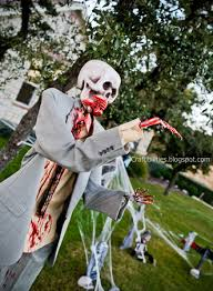 diy zombies halloween decor yard skeletons easy and inexpensive