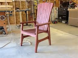 building an outdoor chair lawn chair part 1 youtube