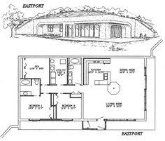 love this underground home just swap kitchen area to be on the