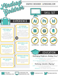 What Is An Infographic Resume 30 Examples Of Creative Graphic Design Resumes Infographics