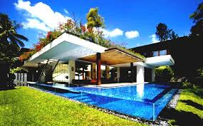 Cool House Plan by U Shaped Cool House Plans With Pool In The Middle Home Modern