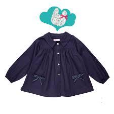 tablier bleu marine blouse d u0027école pour fille anaïs est très chic bleu marine