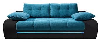 canapé convertible turquoise canape bleu convertible idées décoration intérieure farik us