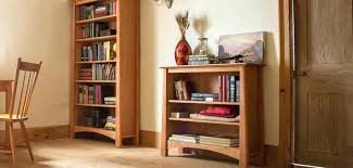 Unfinished Bookcases With Doors Wood Bookcases Zivile Info