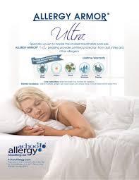Dust Mite Crib Mattress Cover by Allergy Armor Ultra Mattress Covers Shop Achooallergy Com