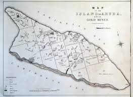 World Map Aruba by Large Old Map Of The Island Of Aruba With Its Gold Mines 1885