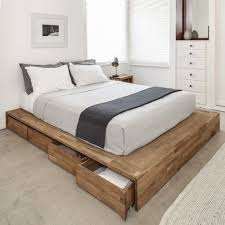 Bed Platform With Drawers Storage Bed With Drawers Headboard Decor Pinterest
