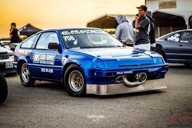 custom honda crx honda crx race car