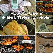 termometre cuisine how to use a thermometer my fearless kitchen