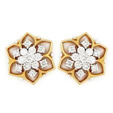 earrings in grt earrings grt jewellers jhumkas diamond ear