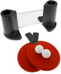 portable ping pong table pongo play ping pong on nearly any table