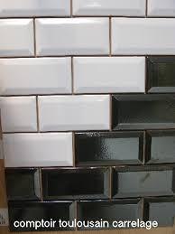 faience cuisine pas cher carrelage metro 7 5x15 haut de gamme noir blanc carrelage