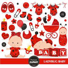 ladybug shower invitations ladybug baby clipart commercial use ladybug baby shower