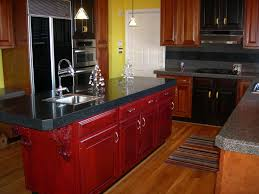 50s Kitchen Cabinets Surprising Painting Kitchen Cabinets White Cost Good Idea From The